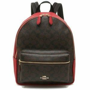 New Coach Medium Charlie Backpack